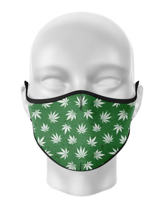 Masca de gura personalizata Weed love [0]