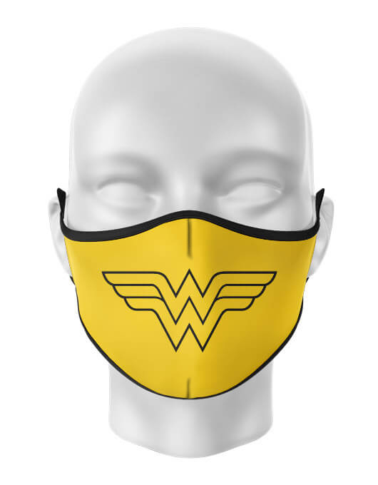 Masca de gura personalizata Wonder woman [0]