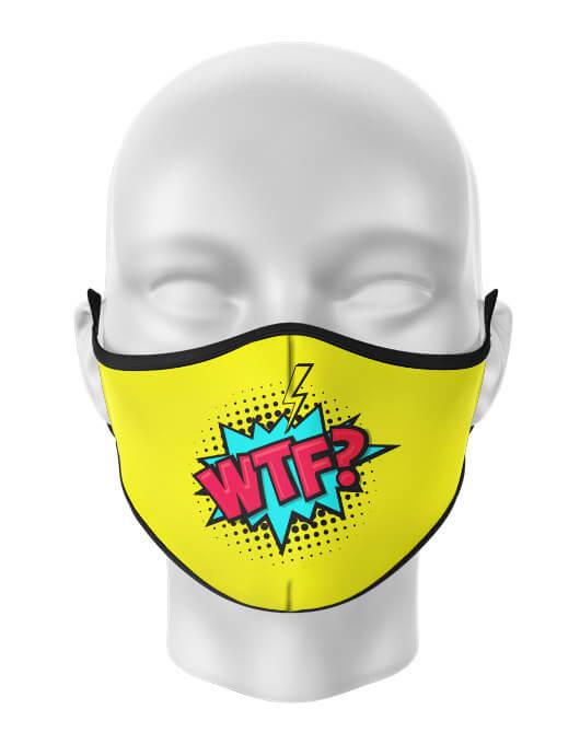 Masca de gura personalizata WTF [0]