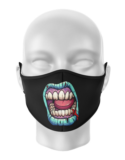 Masca de gura personalizata Zombie scream [0]