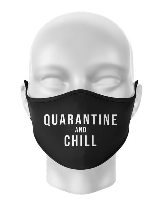 Masca de gura Quarantine and chill [0]