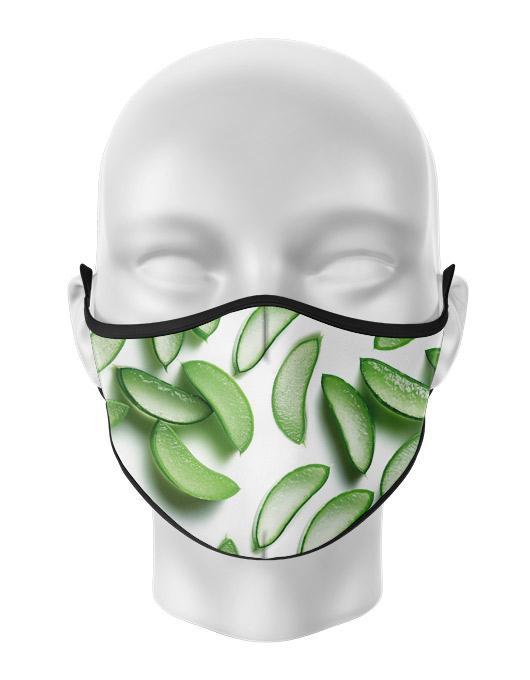Masca reutilizabila personalizata Aloe Vera [0]