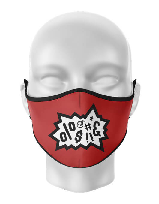 Masca reutilizabila personalizata Anger [0]