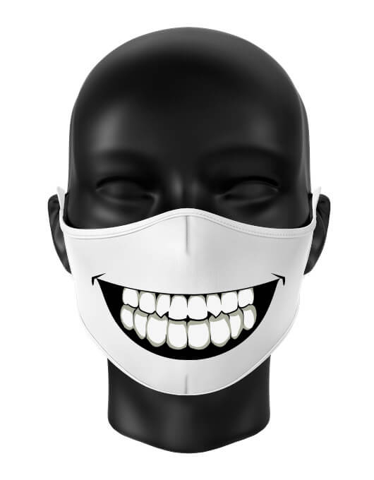 Masca reutilizabila personalizata Big smile [0]