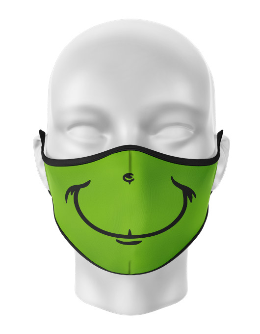 Masca reutilizabila personalizata Grinch [0]