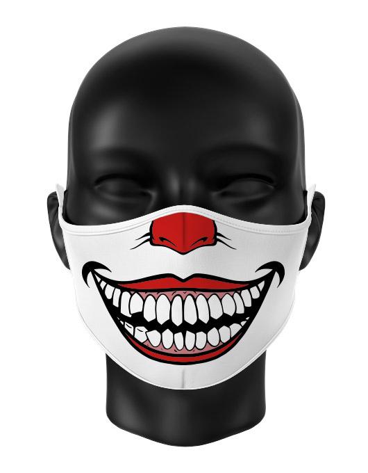 Masca reutilizabila personalizata Joker smile [0]