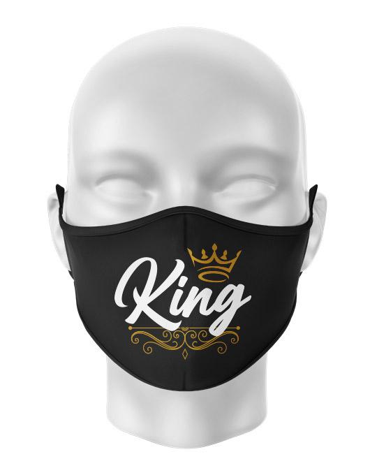 Masca reutilizabila personalizata King [0]
