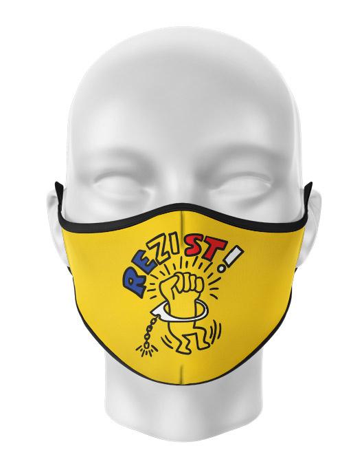 Masca reutilizabila personalizata Rezist 2 [0]