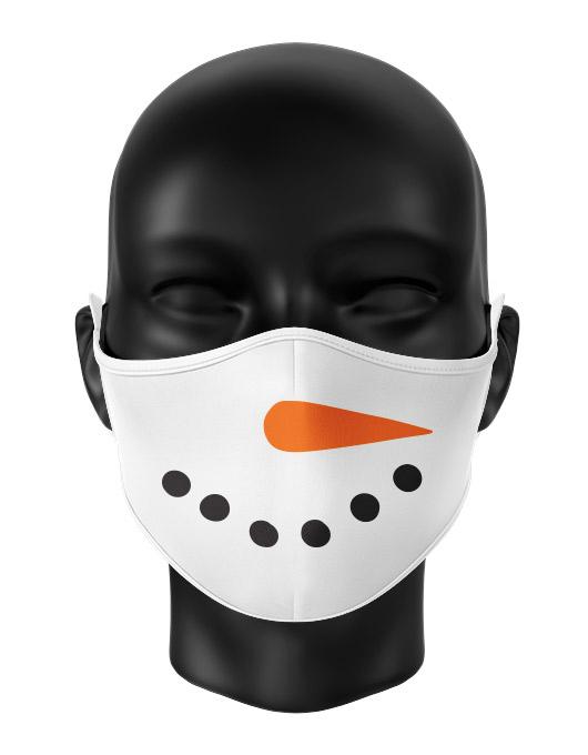 Masca reutilizabila personalizata Snowman [0]