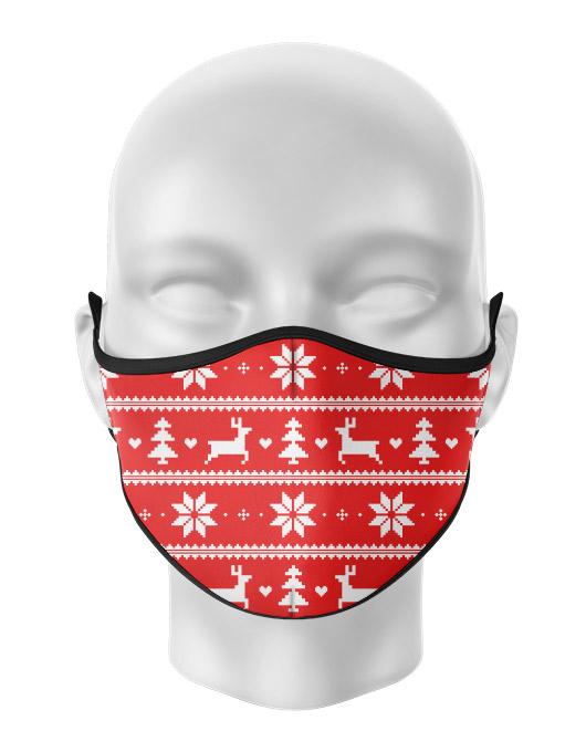 Masca reutilizabila personalizata Ugly pattern [0]