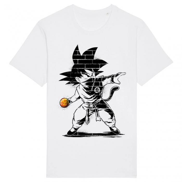 Tricou Alb Ball Thrower [0]