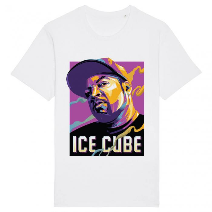 Tricou Alb Ice Cube [0]
