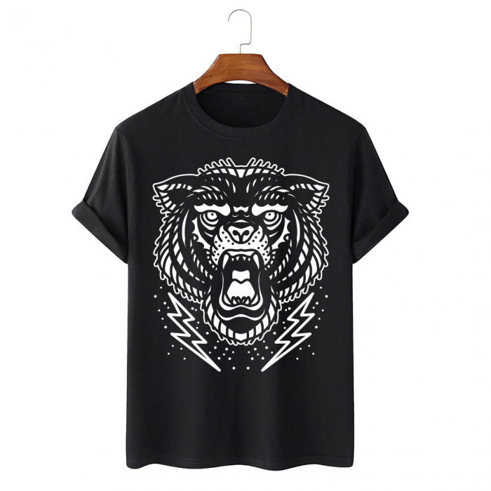 Tricou Negru Black Bear [0]