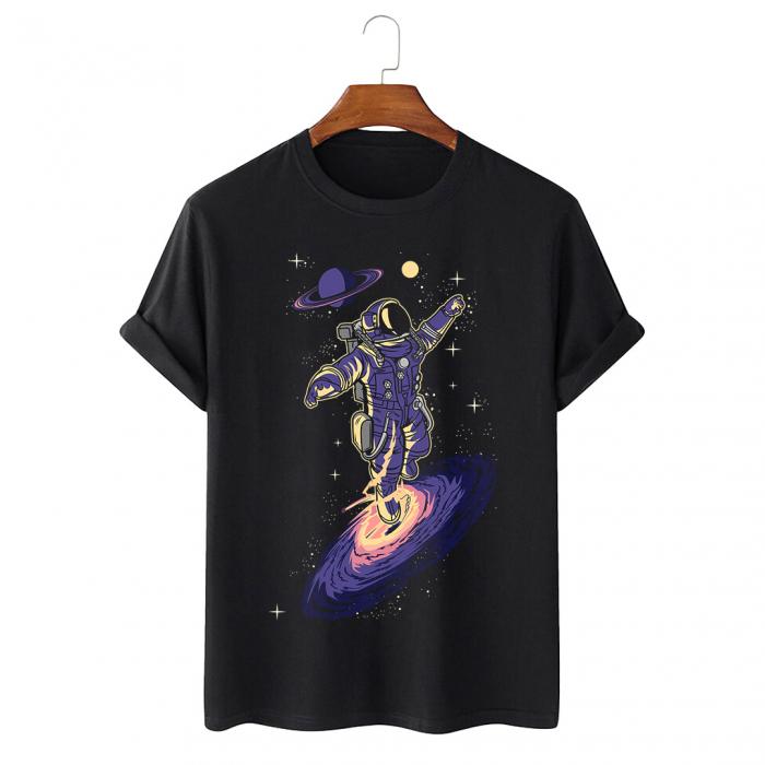 Tricou Negru Black Hole [0]
