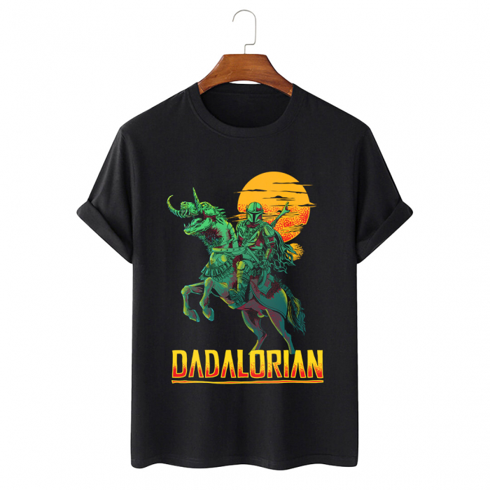 Tricou Negru Dadalorian [0]