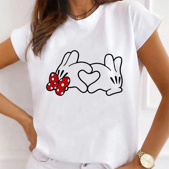 Tricou Dama Alb Heart Hands [0]