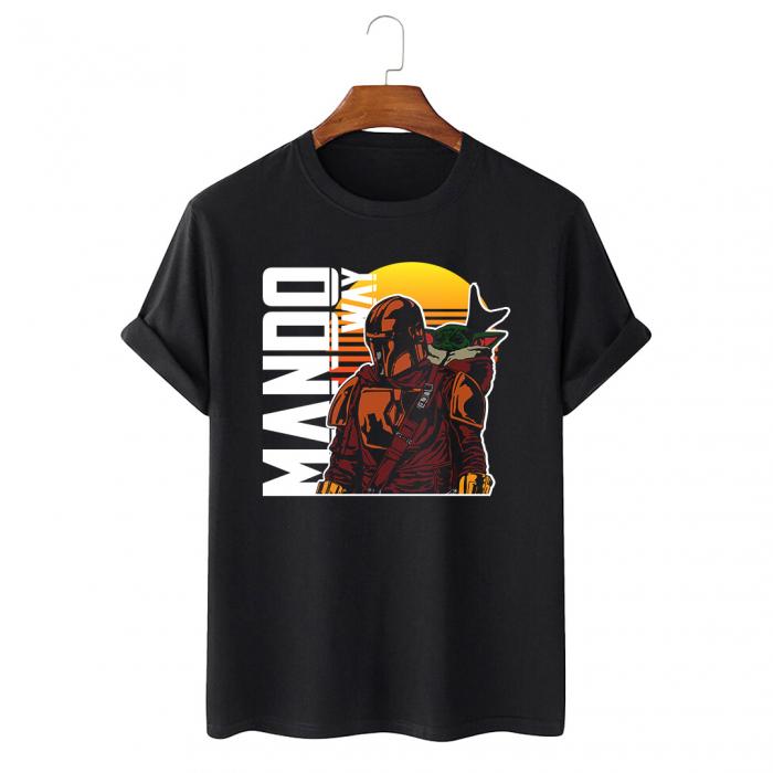 Tricou Negru Mando Way [0]