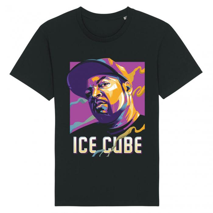 Tricou Negru Ice Cube [0]