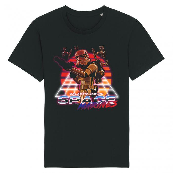 Tricou Negru Space Marines [0]
