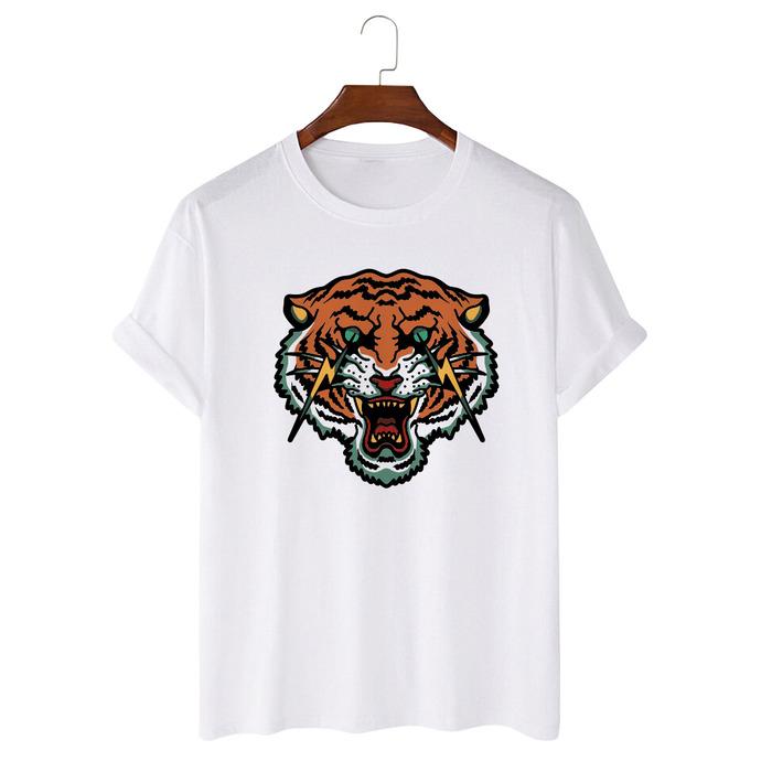 Tricou Alb Flash Tiger [0]