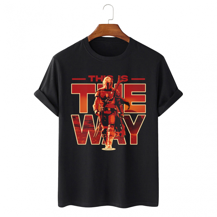 Tricou Negru This Is The Way [0]