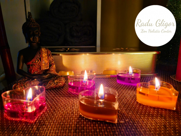 Massage candle wax trandafir [3]