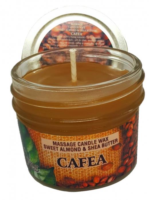 Massage candle wax cafea [0]