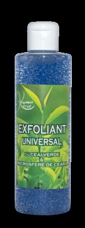 Exfoliant universal cu ceai verde si microsfere de ceara Kosmo Oil [0]
