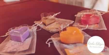 Massage candle wax trandafir [2]