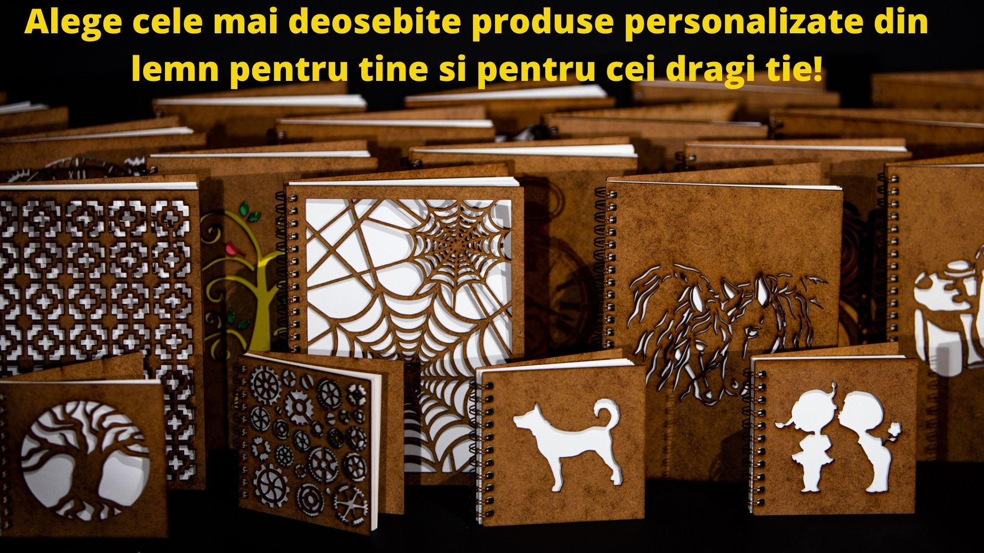 Cadouri inedite si originale din lemn personalizate