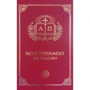 Noul Testament cu psalmi - format 053 alba, aurita [1]