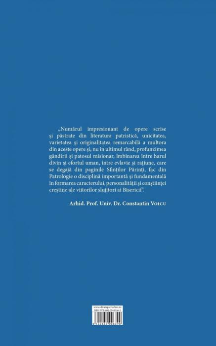 Patrologie – Vol. 1 Ediţia 2015 [1]