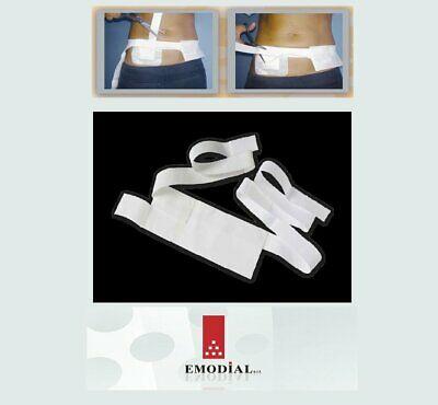 Brâu cu buzunar textil şi centură elastică (fixare velcro) [0]