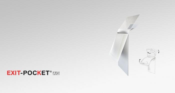 Buzunar textil pentru protectia cateterului de dializă prevazut cu pansament cu ioni de argint [0]