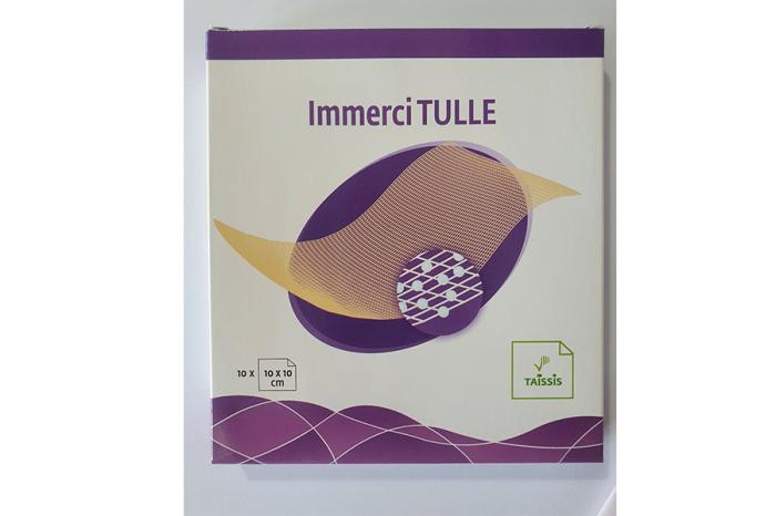 Indicații:  Immerci TULLE + Pansamentul hidrocoloid este indicat în tratamentul local al plăgilor acute moderat exudative (arsuri, escoriaţii dermice, plăgi traumatice) şi cronice (ulcere, escare), în [0]