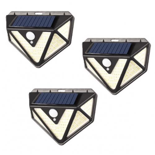 Set  Lampa  panou solar senzor miscare [0]