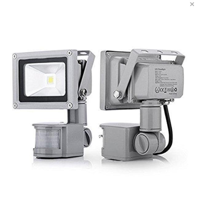 Proiector LED metalic cu senzor de miscare 20 W [0]