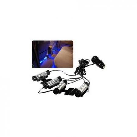 Lumini auto LED ambientale, Ice Blue TY-780 [1]