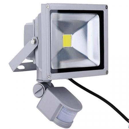 Proiector LED metalic cu senzor de miscare 20 W [2]
