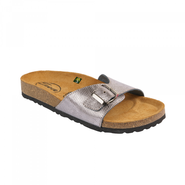 Papuci Medi+ Ena 31 lizard argentum - dama [0]