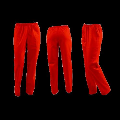 Pantaloni rosii unisex [0]