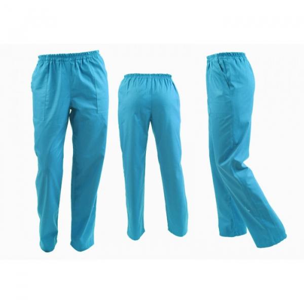Pantaloni turcoaz unisex [0]