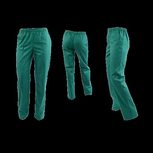 Pantaloni verde chirurgical unisex [0]