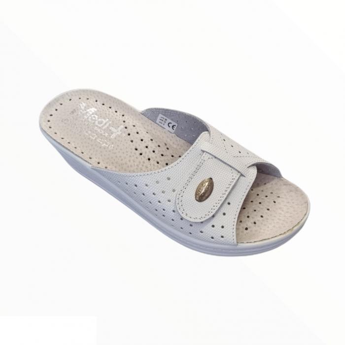 Papuci Medi+ 312SL alb - dama [0]