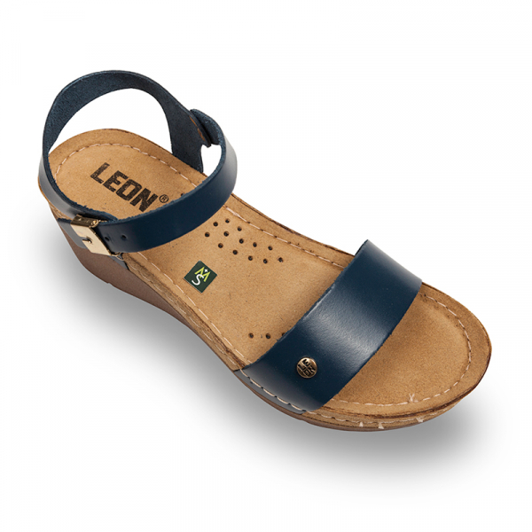 Sandale Leon 1015 albastru - dama [0]