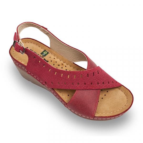 Sandale Leon 1030 rosu - dama [0]