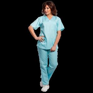 Costum medical aqua - unisex [0]
