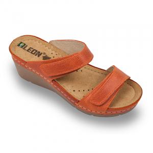 Papuci medicali Leon 1040 portocaliu - dama [0]