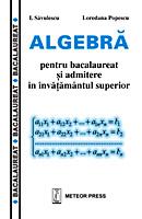 Algebra pentru bacalaureat si admitere in invatamantul superior [0]