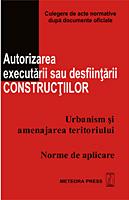 Autorizarea executarii sau desfiintarii constructiilor [0]